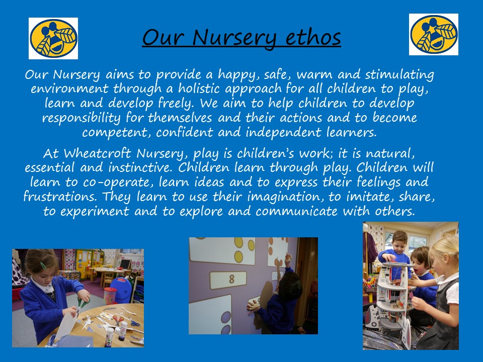 Slide 2 - Our Nursery Ethos