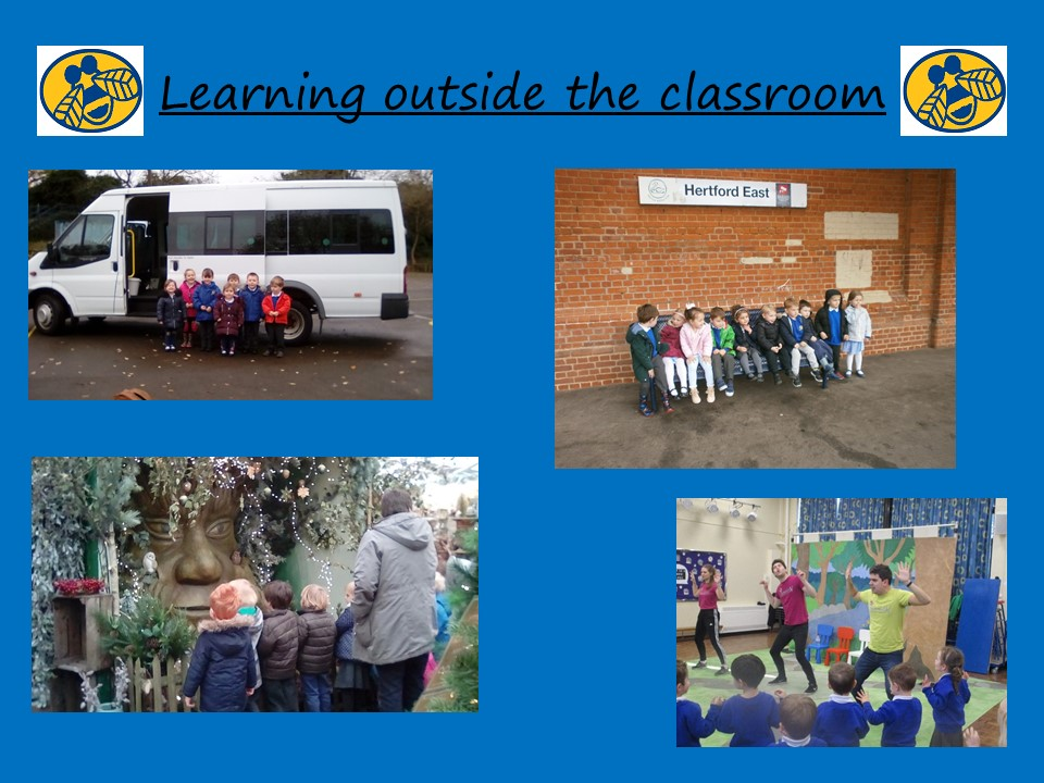 Slide 5 - Learning outside the classroom