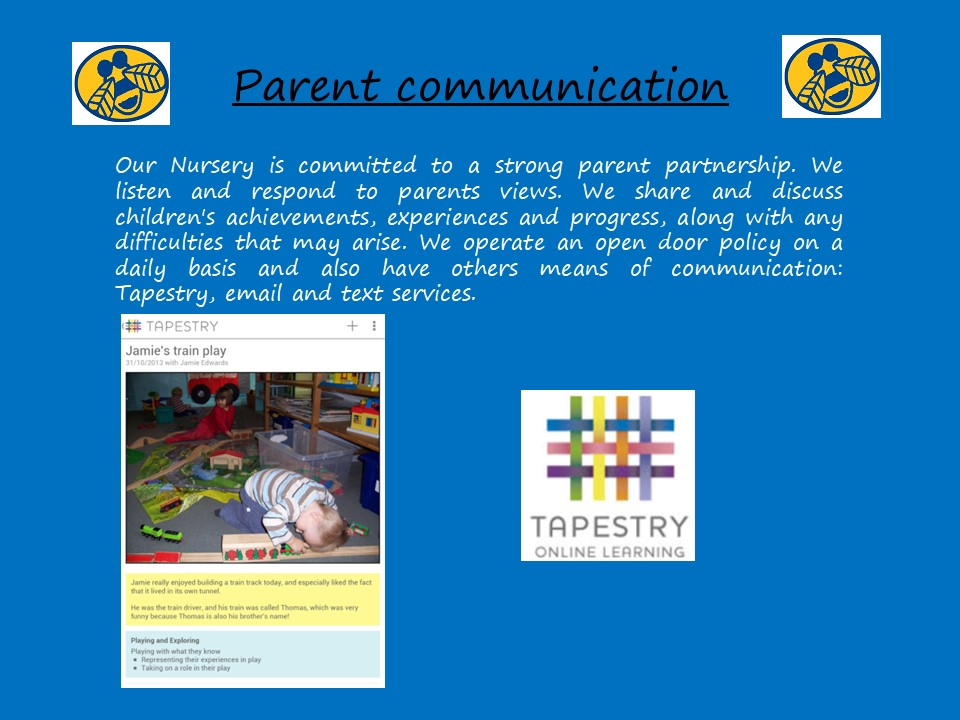 Slide 7 - Parent Communication